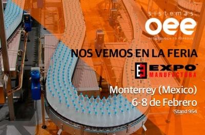 Sistemas OEE en la feria Expo Manufactura 2018 de Monterrey
